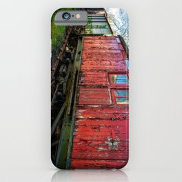 Old Train Wagon iPhone Case