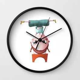 T de Tina Wall Clock