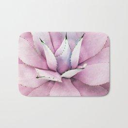 Pink Succulent Bath Mat