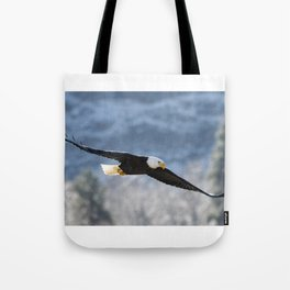 Frosty Glide Tote Bag
