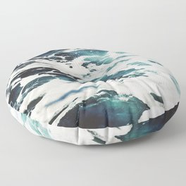 Dark Sea Floor Pillow