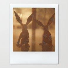 Rabbit Rabbit Canvas Print