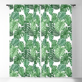 MONSTERA JUNGLE, by Frank-Joseph Blackout Curtain