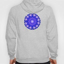 Blue Mandala Hoody