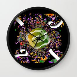 Wind 02 Wall Clock