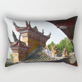 China Roof Top Photo Rectangular Pillow