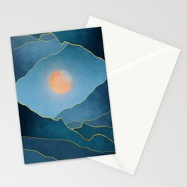 Surreal sunset 03 Stationery Cards