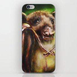 Baby Birthday Bat iPhone Skin