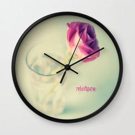 {Vintage} Wall Clock