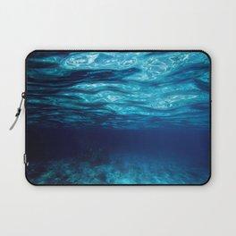Blue Underwater Laptop Sleeve