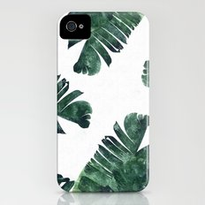 Banana Leaf Watercolor #society6 #buy #decor Slim Case iPhone (4, 4s)