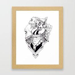 viking! Framed Art Print