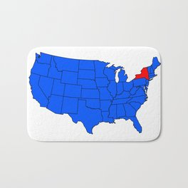 State of New York Position Bath Mat