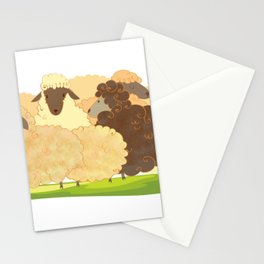 There is always a black sheep Stationery Cards