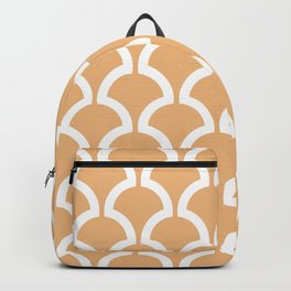 Classic Fan or Scallop Pattern 731 Harvest Gold Backpack