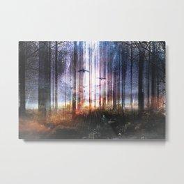 Absinthe forest Metal Print