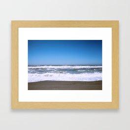 The Waves Framed Art Print