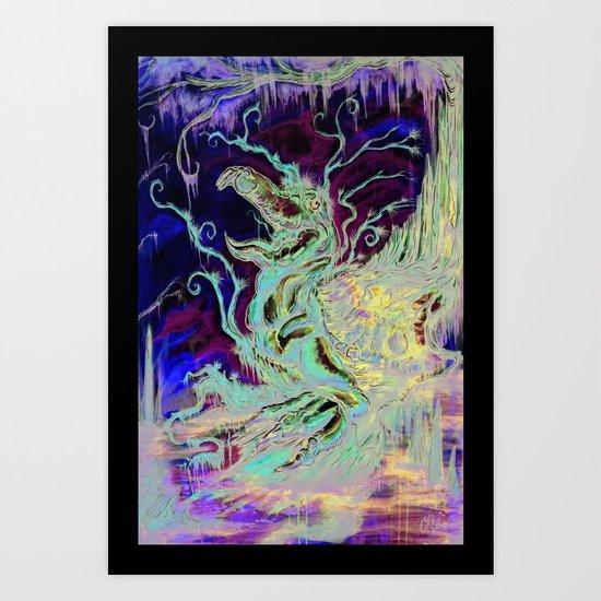 """Loggerhead"" Art Print"