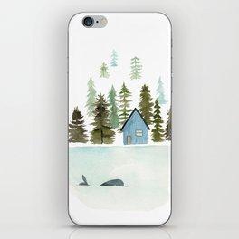 I see a whale! iPhone Skin