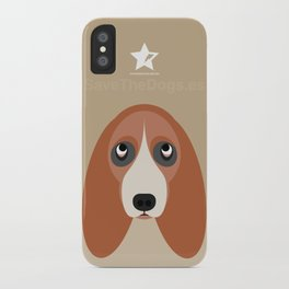 Basset iPhone Case