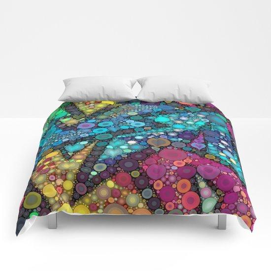 Disco Bubbles Comforters