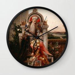 """Gustave Moreau """"King David"""" Wall Clock"""