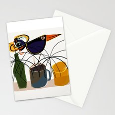 The bouncing bird Stationery Cards