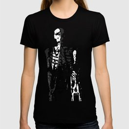 Dr. Hughes And The Skeleton In His Classroom T-shirt