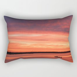 Rise and Grind Maryland Style Rectangular Pillow