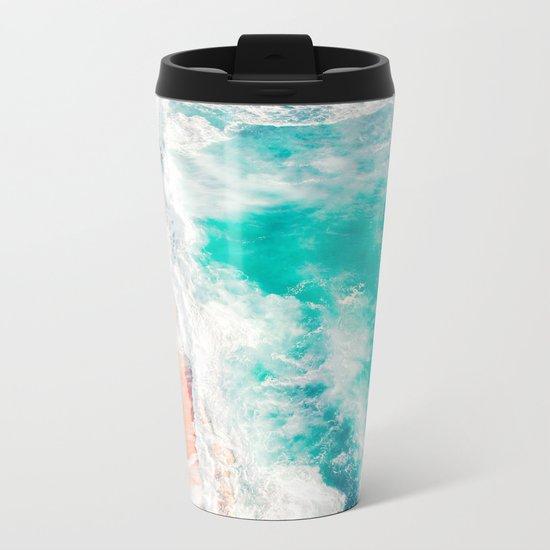 Lovely Tropics Metal Travel Mug