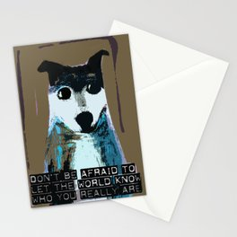 Blue Dog Stationery Cards