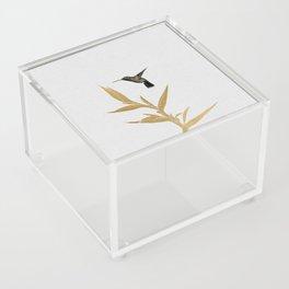 Hummingbird & Flower II Acrylic Box