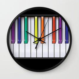 Colour Your Music Wall Clock