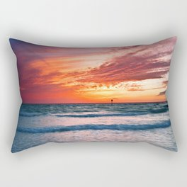 Clearwater Beach, Florida Rectangular Pillow