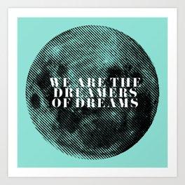 Lunar Dreams Art Print