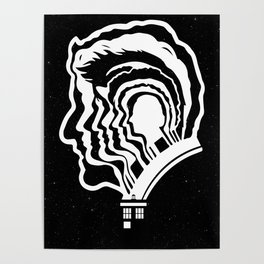 12 Doctor Who Poster