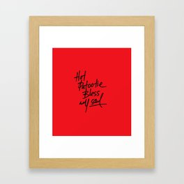 Hot Patootie Framed Art Print