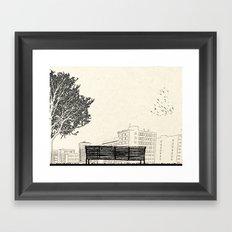Tom's Favourite Spot —Angels Knoll Park, LA —(500) Days of Summer Framed Art Print