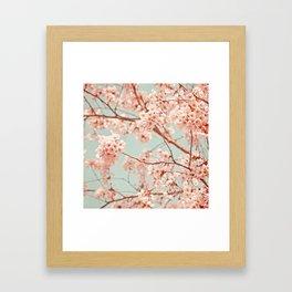 blossoms all over Framed Art Print