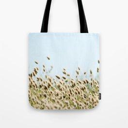 Summer beach land Tote Bag