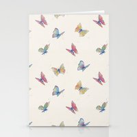 butterflies Stationery Cards featuring Butterflies by Tracie Andrews