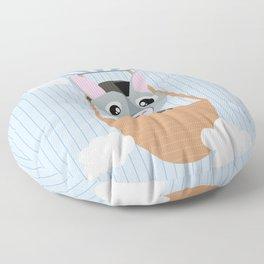 Mobil series hot air balloon donkey Floor Pillow