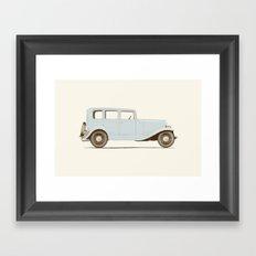 Car of the 1930's Framed Art Print