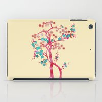 asian iPad Cases featuring Asian Tree by Mimi Matloob Designs