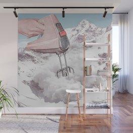 Doris Whisker II - Avalanche whipped cream Wall Mural