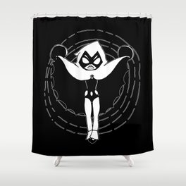 ▴ raven ▴ Shower Curtain