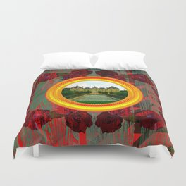 LIKE TO KEEP MY MEMORIES IN STYLE - RUSTIC BAROQUE - FRENCH CHATEAU Duvet Cover