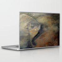 imagerybydianna Laptop & iPad Skins featuring abstract constructs in villette by Imagery by dianna