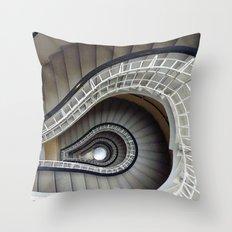 Staircase to Prague Throw Pillow