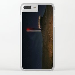 Starry night at Buzludzha Clear iPhone Case